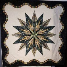 Vintage Compass, Quiltworx.com, Made by Levi Henson