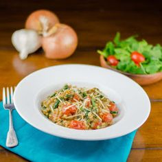 Cooking By Moonlight: Farro Risotto