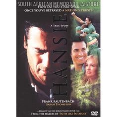 Hansie Cronje - Frank Rautenbach (Collectors Edition) South African DVD *New* - South African Memorabilia Store