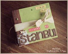 Album Istanbul by Martina  www.scrap-booking.it