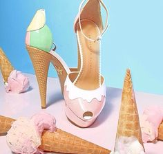 Ice, ice baby by Charlotte Olympia