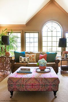 Brown Leather Sofa Design Ideas, Pictures, Remodel, and Decor - page 4