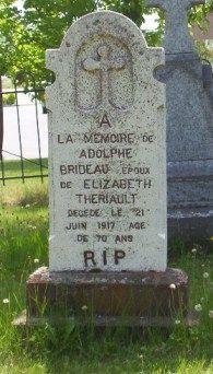 Paquetville Genealogy | Brideau Adolphe 1917 m. Theriault Elizabeth