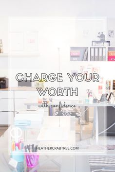 charge your worth!! Yes Yes Yes!!! Love this. Sometimes I forget that I am providing something worth paying for.