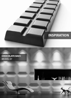 Chocolate Bar - model 07 - Inspiration. Click at the photo to get more information or to visit our website. #LoftDesignSystem #loftsystem #Decorativepanels #Inspiration #Interior #Design #wallpanels #3Ddecorativepanels #3dpanels #3dwallpanels #house #home #homedesign #Decorations #homedecorations #meringue #bedroom #salon #livingroom #chocolate