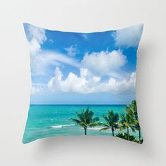 NEW! Now - COTTON TWILL PILLOW COVERS TOO!! This decorative Miami Palm trees pillow cover is perfect for a beach cottage or coastal theme home decor. This is wonderful ocean and beach gift! Also it is easy and affordable way to decorate your room, refresh interior and it looks amazing! Dont forget - you can personalized it, just let me know! 🌊 Throw Pillow Covers are made from 100% Cotton Twills or premium spun polyester poplin fabric. 🌊 Made and print in USA 🌊 Design printed on both…