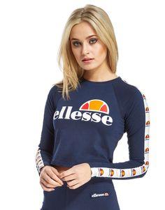 Ellesse Longsleeve Crop T-Shirt - Shop online for Ellesse Longsleeve Crop T-Shirt with JD Sports, the UK's leading sports fashion retailer.