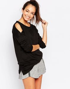 New+Look+Cold+Shoulder+Sweat