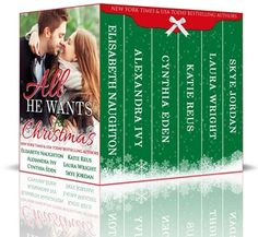 All He Wants for Christmas a Holiday Anthology Six authors, six Christmas stories, six super-yummy guys. Suspense, romance, steam... everything you need to get in the mood... the holidays mood!