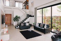Modern Small House Design, Small House Interior Design, Design Your Dream House, Minimalist House Design, Modern House Plans, Home Stairs Design, Home Building Design, Home Design Plans, 2 Storey House Design