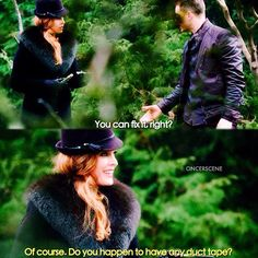 """David and Zelena 5x22 """"Only You"""""""