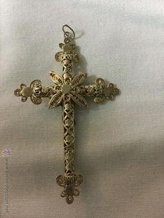 Cruz de filigrana antigua - Foto 3
