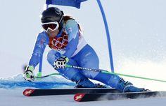 #Sochi: Tina Maze, oro per due, Italia beffata, quarta una stoica Merighetti
