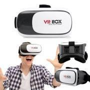 VR Box 2 2.0 2nd Gen Virtual Reality 3D Glasses Goggle Headset with Adjustable Focal Eye Pupil Distance Resin Lens For 4.7 to 6 inch Smartphones IOS Android Iphone 6 plus 7 Samsung Galaxy S6 Edge+
