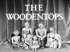 The 'Watch with Mother' lunchtime TV series:     Picture Book on Monday ;    Andy Pandy on Tuesday  ;    The Flower Pot Men on Wednesday  ;    Rag, Tag & Bobtail on Thursday  ;    The Woodentops on Friday