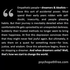Empathic A Help for narcissistic sociopath relationship survivors