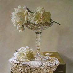 Shades of White - Original Fine Art for Sale - © Jeanne Illenye