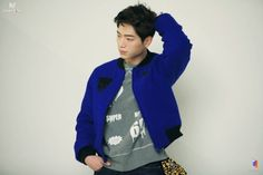 Seo Kang Joon for SURE Magazine, December 2014 Behind the Scenes