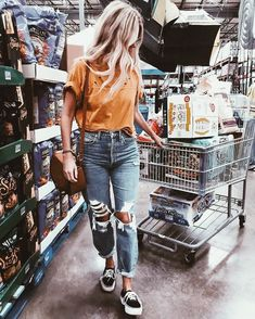 i love grocery shopping
