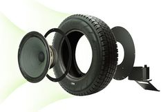 Fancy - Seal Recycled Tire Speaker