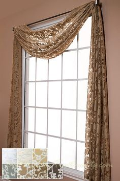 Swags And Scarves Window Treatments Sherra Design