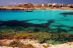 Lampedusa - Spiaggia Guitgia
