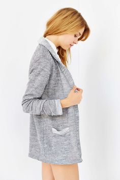 Mouchette French Terry Cardigan