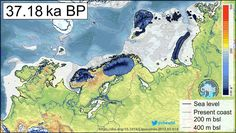 The collapse and melting of the Eurasian ice sheet at the end of the last ice age led to chaos all across the European continent. To put it bluntly, the collapse of the ice sheet led to dramatic an… Science News, Science And Technology, 400 M, Environmental News, Ice Sheet, Archaeology News, Sea Level Rise, Ice Age, Prehistory