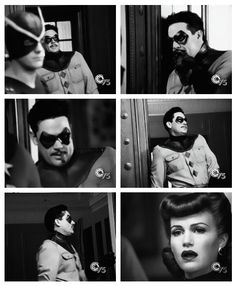 """Watchmen"" - Sally Jupiter and The Comedian"
