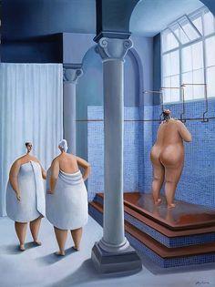 After the Baths from wonderful artist Sarah-Janeszikora