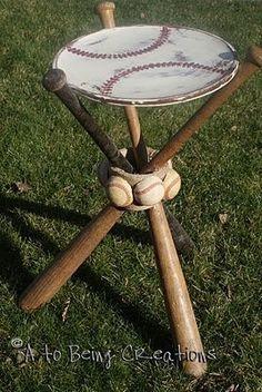 Fun baseball table