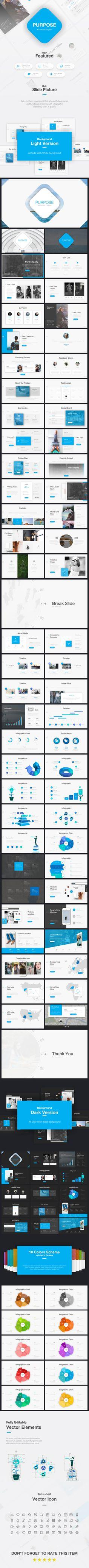 Purpose Presentation Template #powerpoint #presentation Download https://graphicriver.net/item/purpose-presentation-template/19471523?s_rank=1?ref=BrandEarth