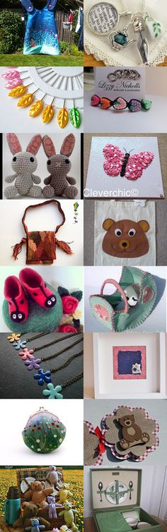 If you go down to the woods today... by Sarah Evans on Etsy--Pinned with TreasuryPin.com