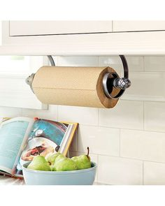 So pretty! – Ballard Under-Cabinet Mount Paper Towel Holder ...
