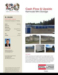 Kermodei Storage Terrace, Commercial, Real Estate, Community, Park, City, Storage, Balcony, Purse Storage