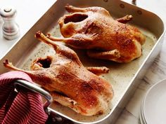 Roast Duck by Barefoot Contessa -this was great, but took longer to roast. TR