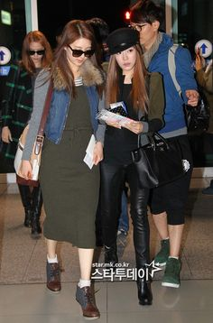 [121109] SNSD at Incheon Airport Depature to L.A