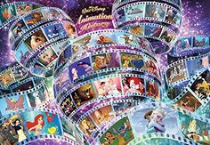 Tenyo Walt Disney Animation History Jigsaw Puzzle (1000 P