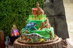 Jurassic World Birthday Party Ideas | Photo 2 of 16