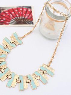 Unique Design Cool Colorful Short Tassel Necklace