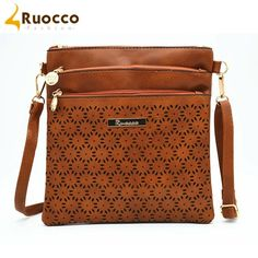 Women and Young Adult Fall/Winter 2016 Collection of Designer Style Fashion Shoulder Crossbody Messenger Mail Bags / Purse Model Ruocco-9001