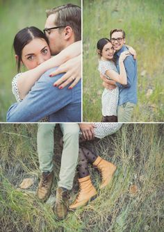 Woodlands Engagement shoot by Alixann Loosle