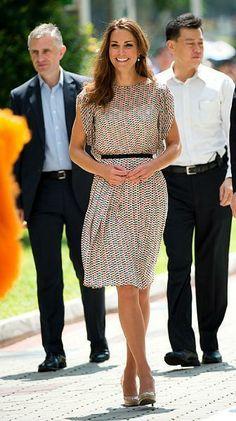 Kate Middleton + vestido Zara!