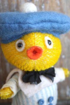 just ducky!!! a mohair cutie by Jody Battaglia...