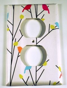 Light+Switch+Cover++Wall+Decor++Switch+Plate+by+funkychickendesign,+$6.00
