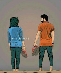 Cute Love Images, Love Couple Images, Cute Love Gif, Cute Couple Pictures, Cute Couple Drawings, Anime Couples Drawings, Cute Couple Art, Love Cartoon Couple, Cute Love Cartoons