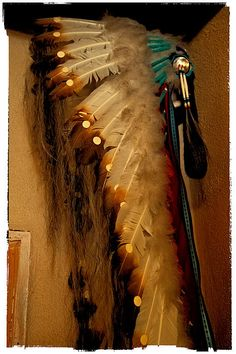 Native American Wall Art - Photograph - Indian Feathered Headdress by David Patterson Native American Headdress, Native American Clothing, Native American Artwork, Native American Design, Native American Indians, Native Americans, Taken For Granted, Art Pages, Indian Art
