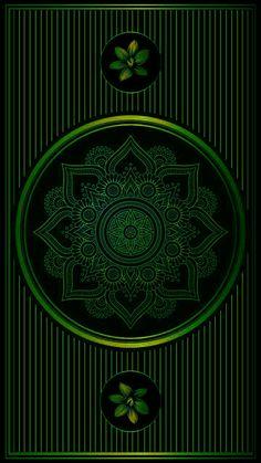 Photografy Art, Green Wallpaper, Mandala Art, Bold Colors, Glow, Texture, Phone Wallpapers, Crystals, Phone Case
