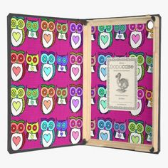 Awesome! This Colorful Bright Heart Owlies iPad Air Covers is completely customizable and ready to be personalized or purchased as is. It's a perfect gift for you or your friends.
