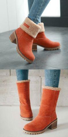 b2311fd2f53  42.99 USD Sale! Free Shipping! Shop Now! Female Winter Shoes Fur Warm Snow